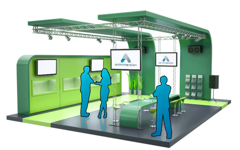 How exhibition stand might look