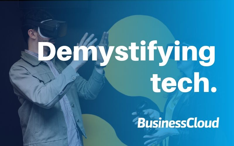Demystifying Tech: Can VR make analytics… fun?