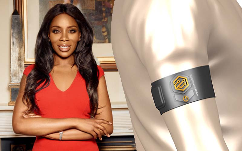 Cecilia Harvey and Hyve Dynamics' sensor-based armband
